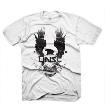 Halo 4 New UNSC Logo t-shirt - OFFICIAL