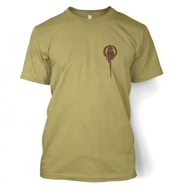 Hand Of The King Brooch men's t-shirt