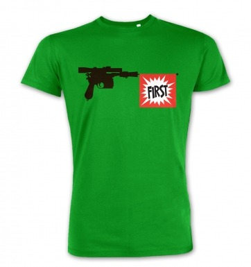 Han Shot First Blaster t-shirt (premium)