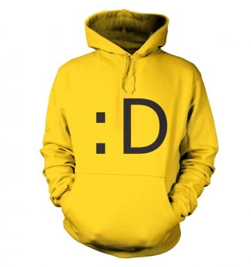 Happy Emoticon hoodie
