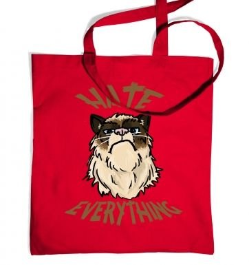 Hate Everything tote bag