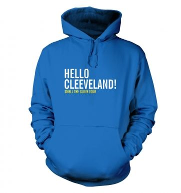 Hello Cleveland hoodie