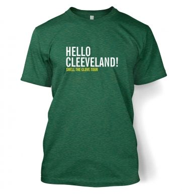 Hello Cleveland Adult T shirt