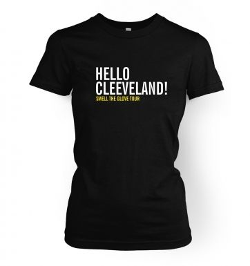 Hello Cleveland women's t-shirt