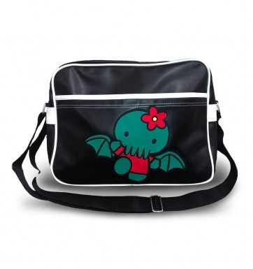 Hello Cthulhu airline  messenger bag