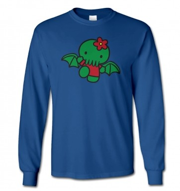 Hello Cthulhu long-sleeved t-shirt