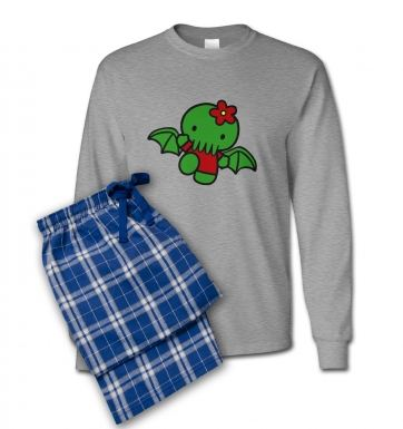 Hello Cthulhu pyjamas (men's)