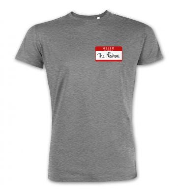 Hello My Name Is The Mechanic  premium t-shirt