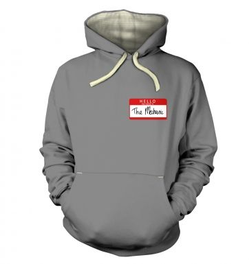 Hello My Name Is The Mechanic premium hoodie