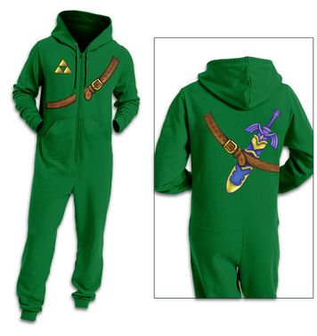 Hero Of Time Costume adult onesie