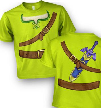 Hero Of Time Costume kids t-shirt