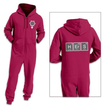 Hers Element adult onesie