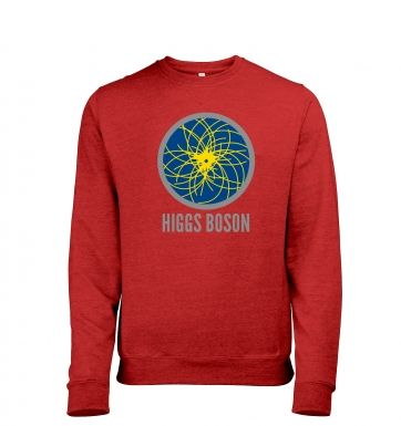 Higgs Boson Mens Heather Sweatshirt