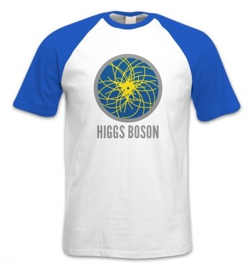 Higgs Boson short-sleeved baseball t-shirt