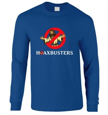 Hoaxbusters long-sleeved t-shirt