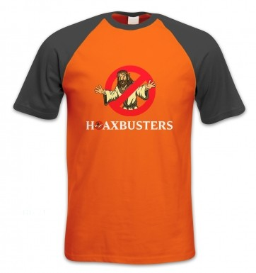 Hoaxbusters short-sleeved baseball t-shirt