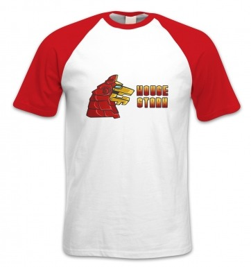 House Stark Industries short-sleeved baseball t-shirt