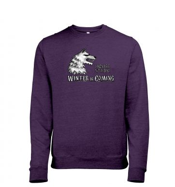 House Stark heather sweatshirt