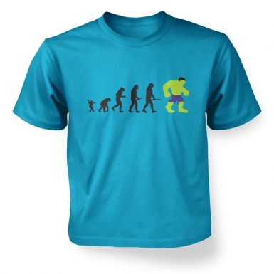 Hulk Evolution Kids T-shirt