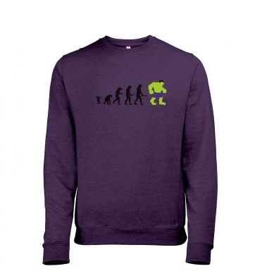 Hulk Evolution Mens Heather Sweatshirt