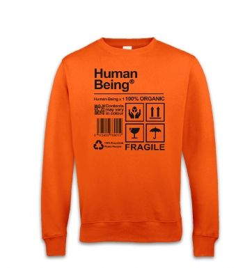 Human Being sweatshirt