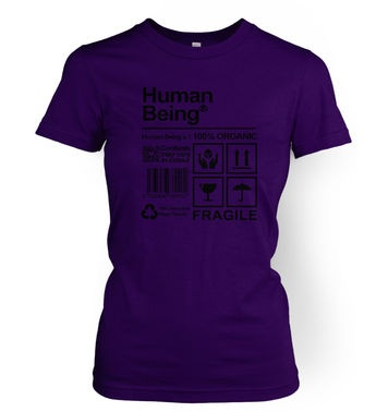 Human Being women's t-shirt