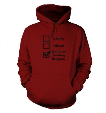 Hunting Dragons: Relationship Status hoodie