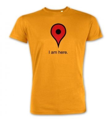 I Am Here premium t-shirt