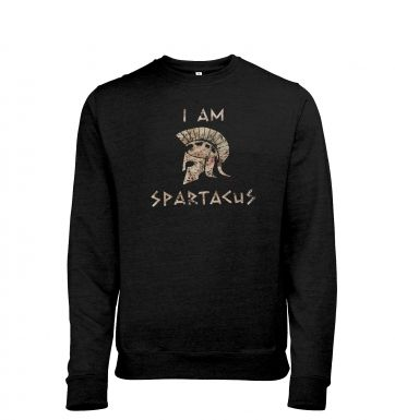 I Am Spartacus heather sweatshirt