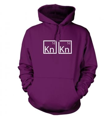 I Am The One Who Knocks Elements hoodie