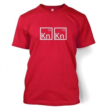 I Am The One Who Knocks Elements t-shirt
