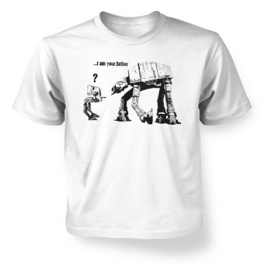 Banksy I Am Your Father kids' t-shirt