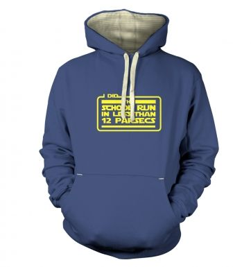I Did The School Run In 12 Parsecs  hoodie (premium)
