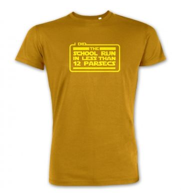 I Did The School Run In 12 parsecs premium t-shirt