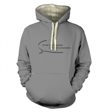 I'd like to unsubscribe premium hoodie
