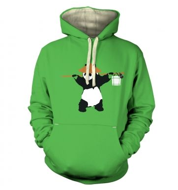 If Banksy Played WoW, He'd Be Pandaren premium hoodie