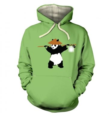 If Banksy Played WoW, He'd Be Pandaren hoodie (premium)