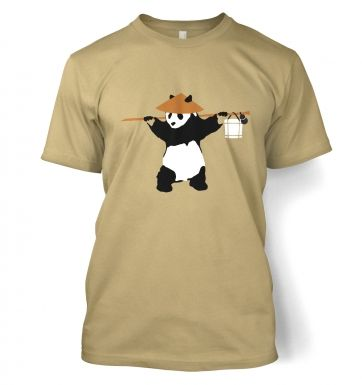 If Banksy Played WoW, Hed Be Pandaren  t-shirt