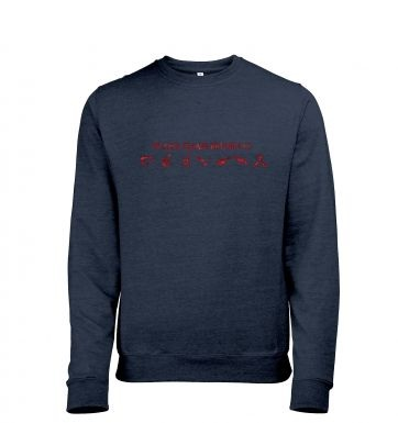 If lost please return to Earth Mens Heather Sweatshirt