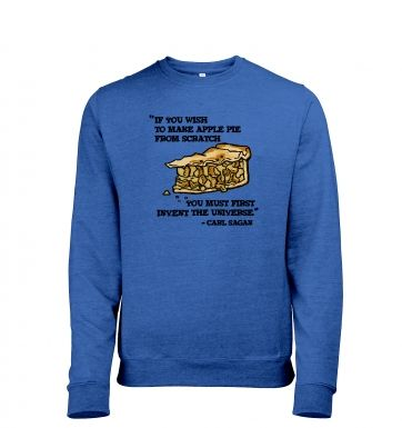 If You Wish To Make Apple Pie men's heather sweatshirt