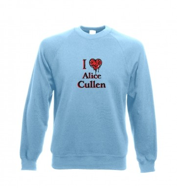 I heart Alice Cullen sweatshirt