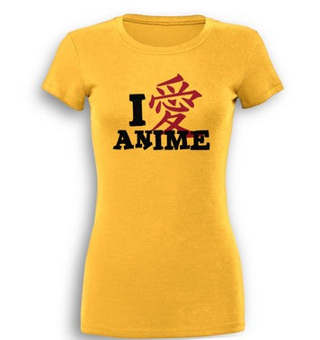 I Heart Anime premium women's t-shirt