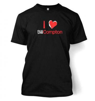 I heart Bill Compton t-shirt