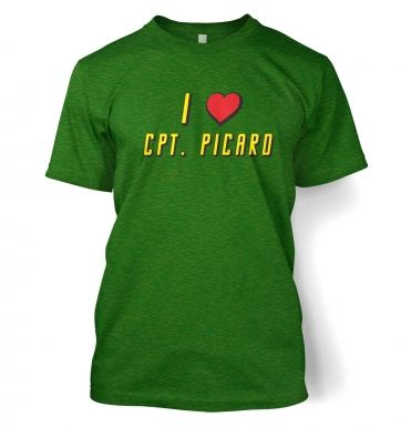 I heart Captain Picard t-shirt