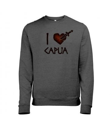 i heart capua heather sweatshirt