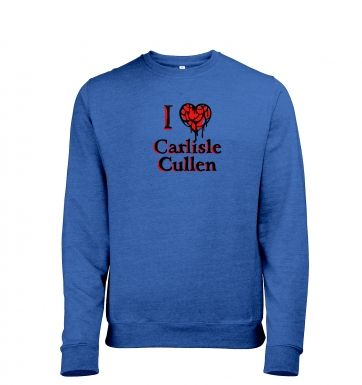 I Heart Carlisle Cullen heather sweatshirt