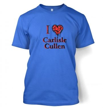 I heart Carlisle Cullen t-shirt - Inspired by Twilight