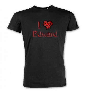 I Heart Edward  premium t-shirt