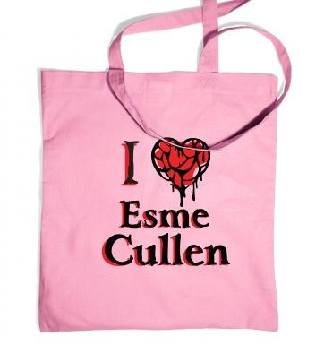 I heart Esme Cullen tote bag - Inspired by Twilight