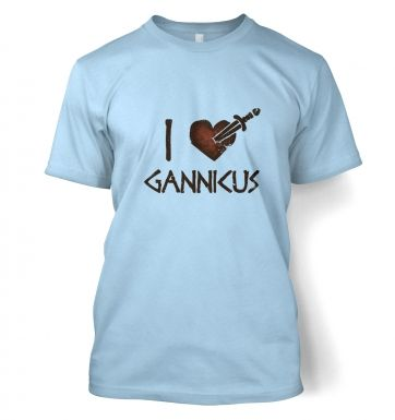 I heart Gannicus men's t-shirt
